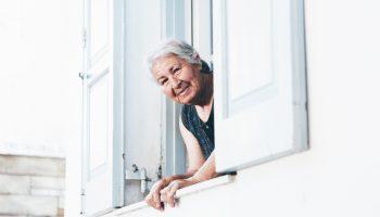 mujer mayor, envejecimiento