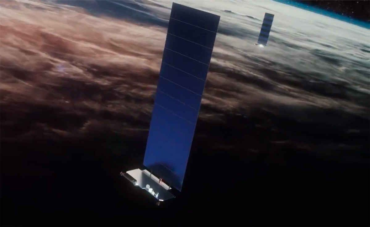 Satélites Starlink de SpaceX