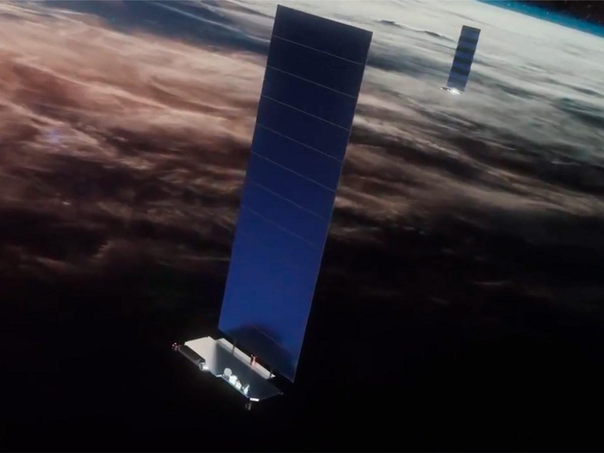 Satélites Starlink de SpaceX