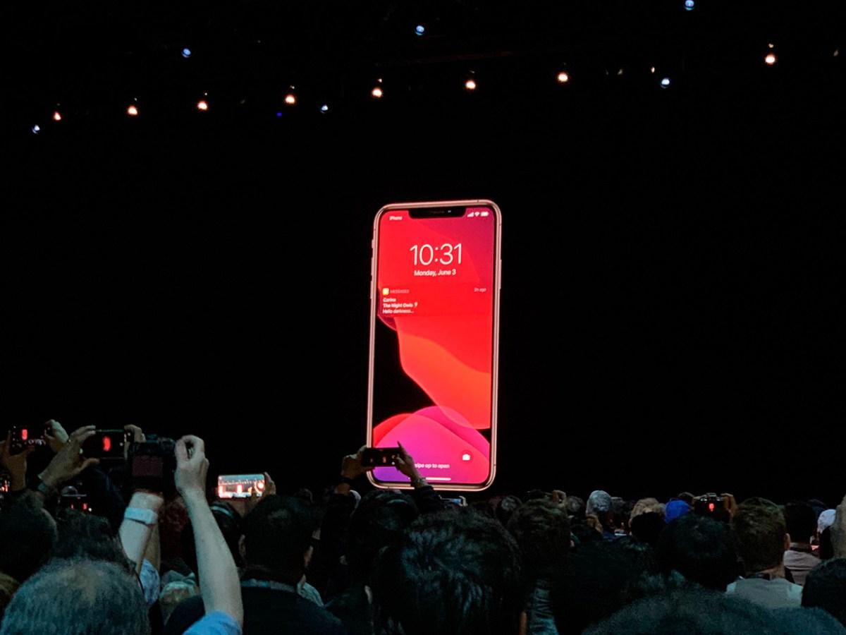 Modo oscuro en iOS