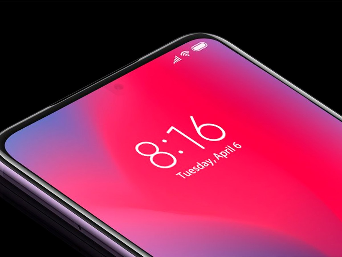 Cámara bajo la pantalla de Xiaomi