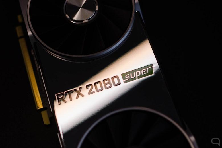 Logo de Nvidia en la GeForce RTX 2080 Super