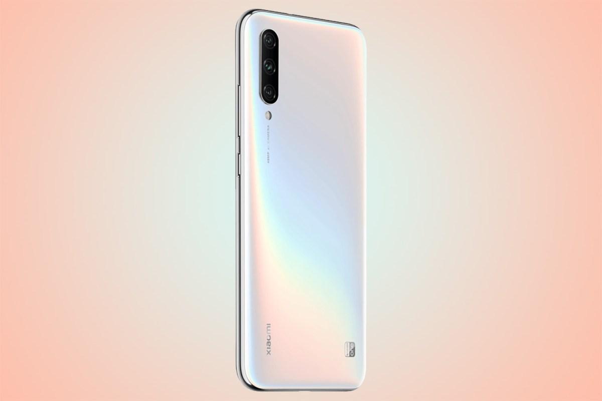 Xiaomi Mi A3 en blanco