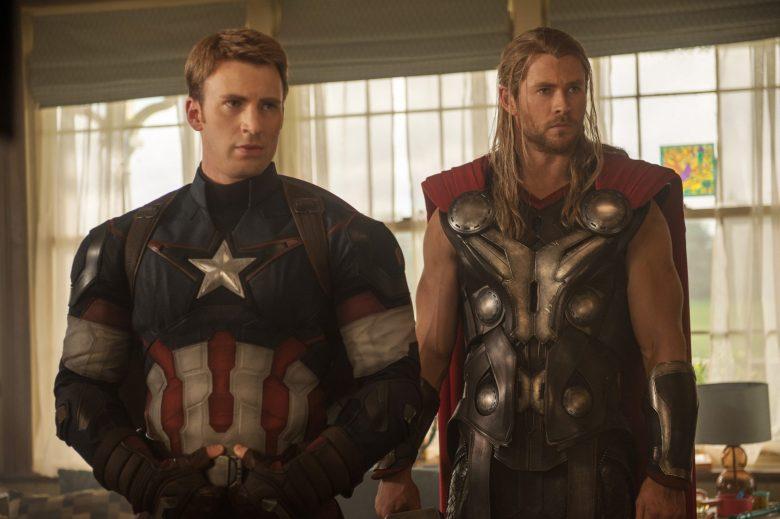 Steve Rogers / Captain America and Thor in Avengers: Endgame