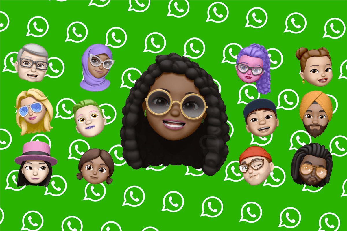 WhatsApp Memoji iPhone