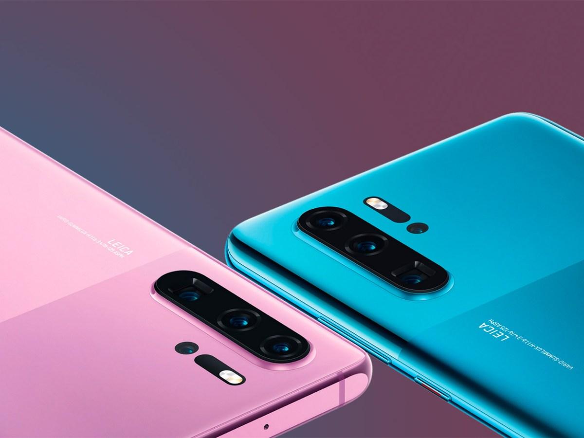 Colores duales en el Huawei P30 Pro
