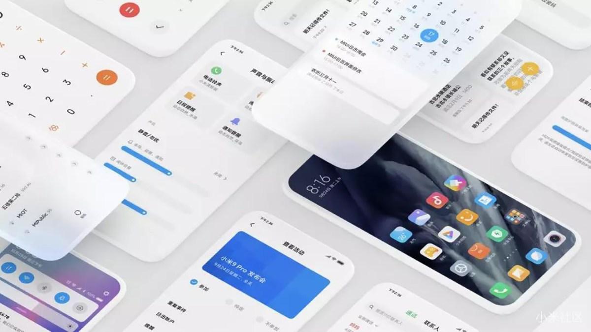 MIUI 11 de Xiaomi