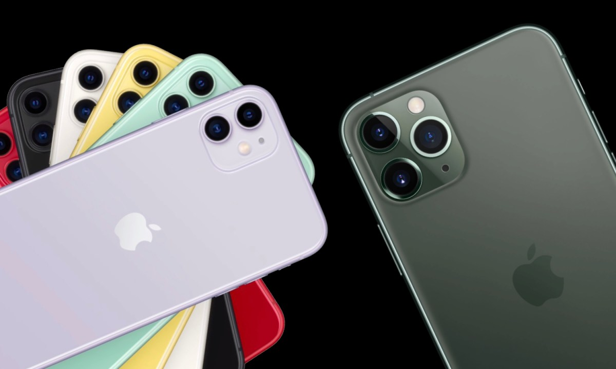 iPhone 11 y iPhone 11 Pro