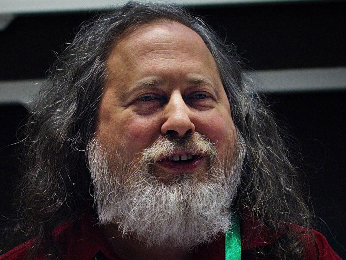 Richard Stallman en 2019