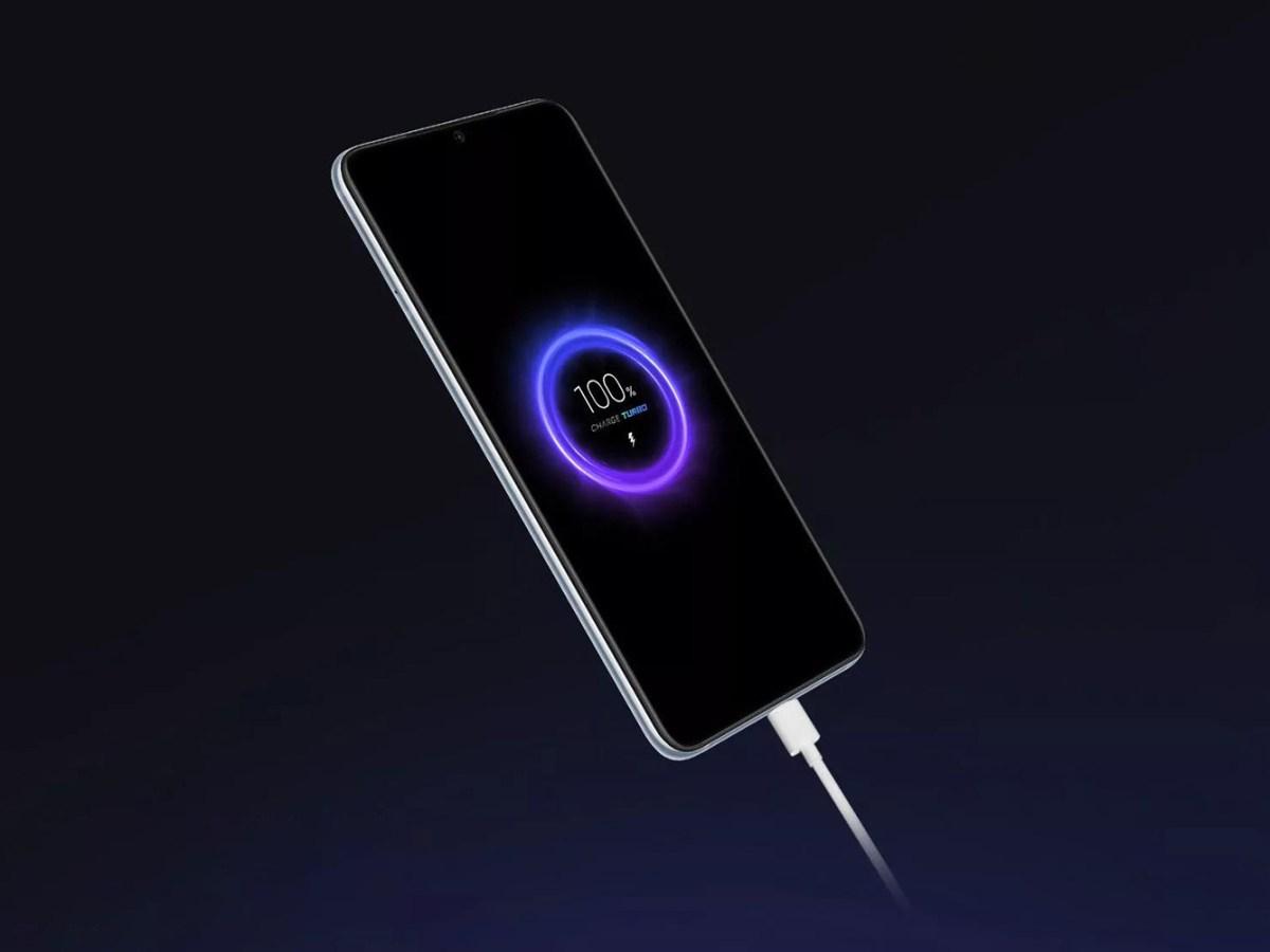 Xiaomi Mi Pro 5G, carga rápida