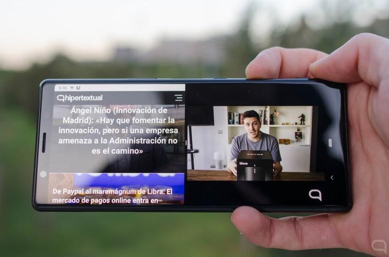 Aplicaciones a pantalla partida en el Sony Xperia 5