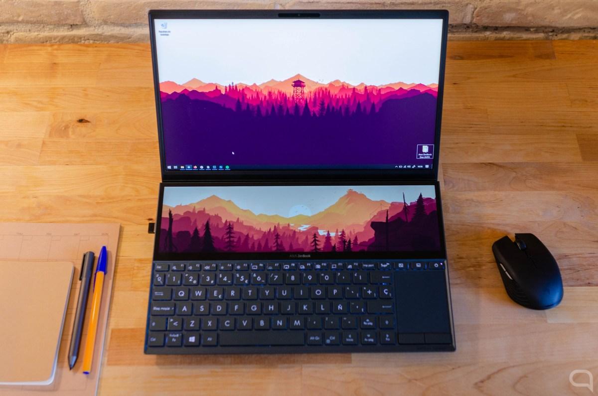 Dos pantallas en el Asus ZenBook Duo