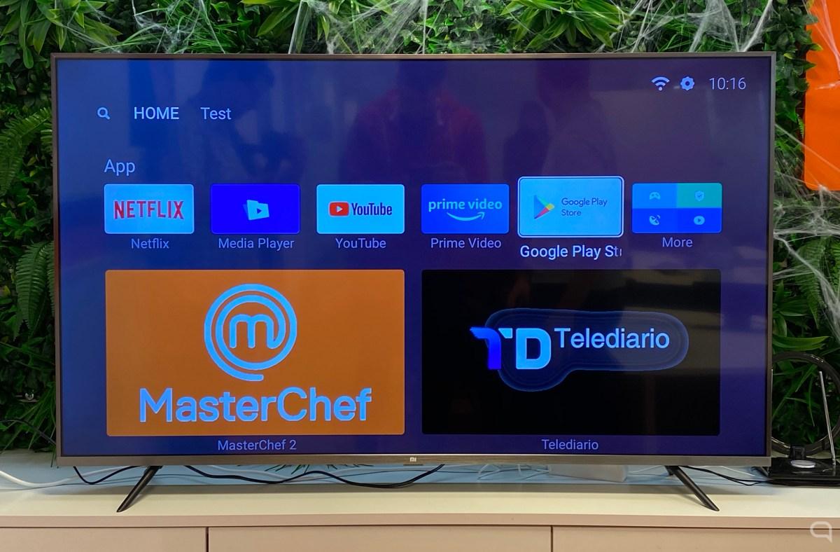 Xiaomi Mi TV 4S en 55 pulgadas