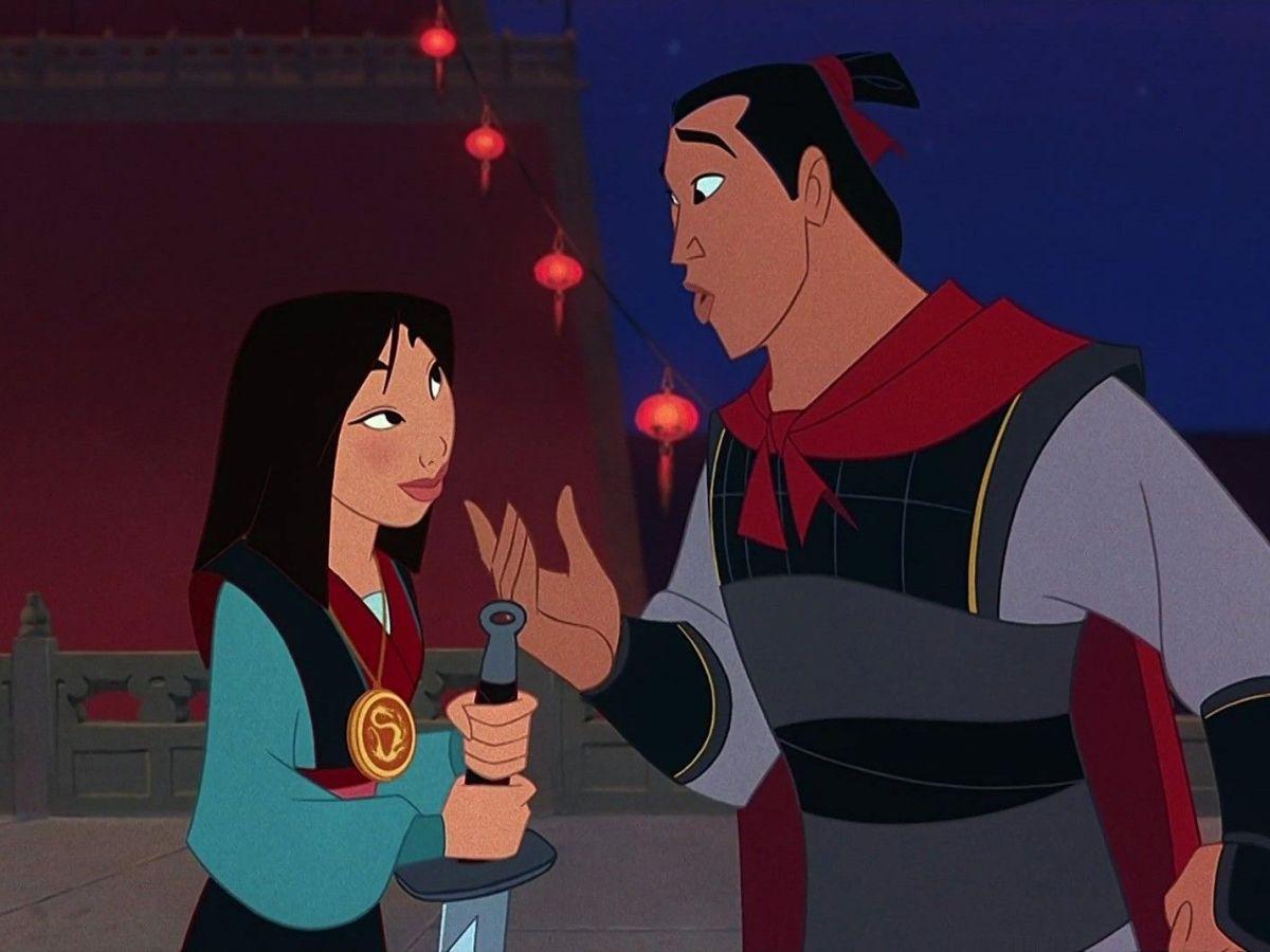 Mulán y Li Shang