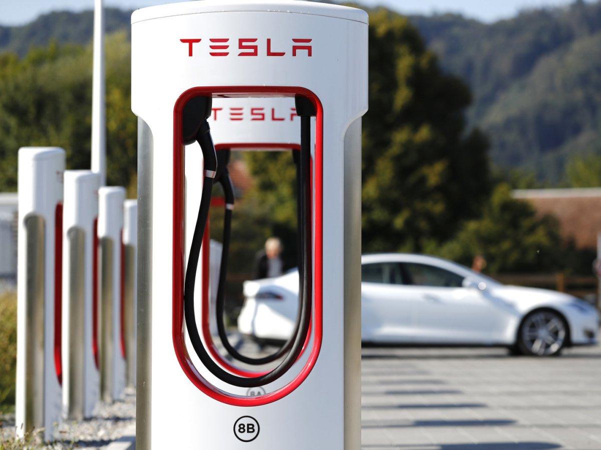 Red de Superchargers de Tesla