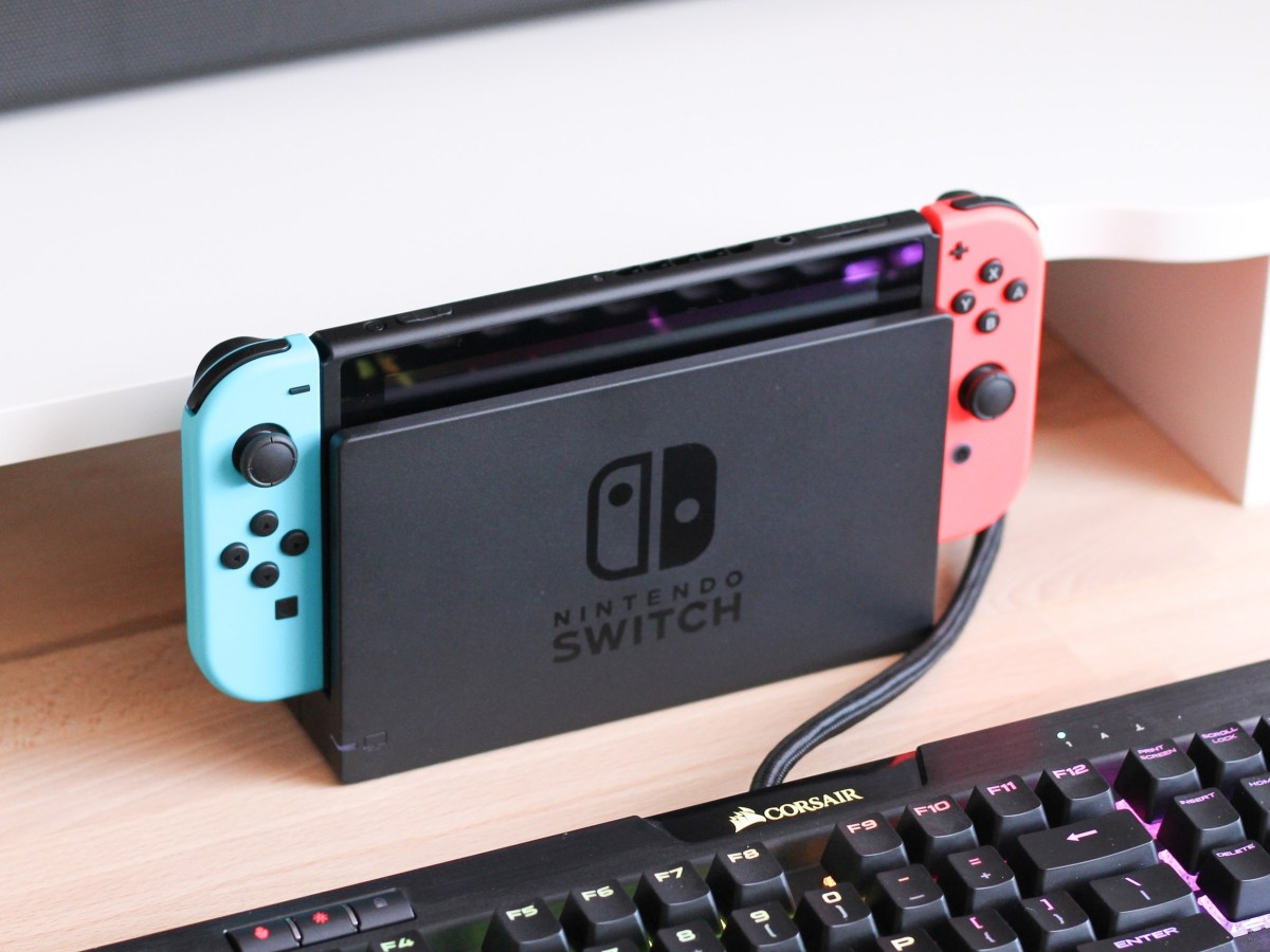 Nintendo Switch hacker