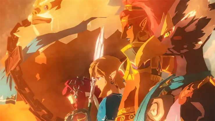 Hyrule Warriors: Age of Calamity Breath of the Wild