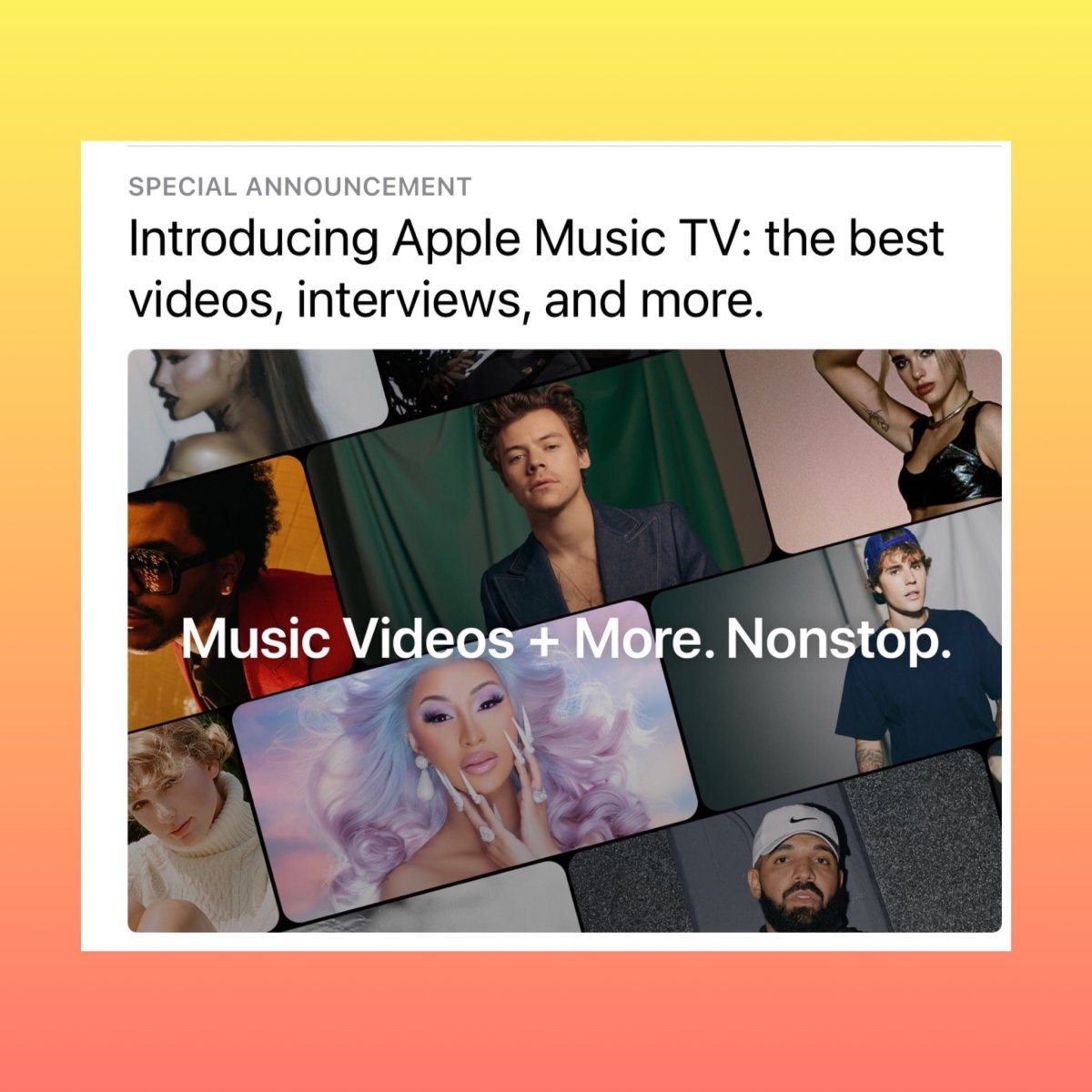 Apple TV Music