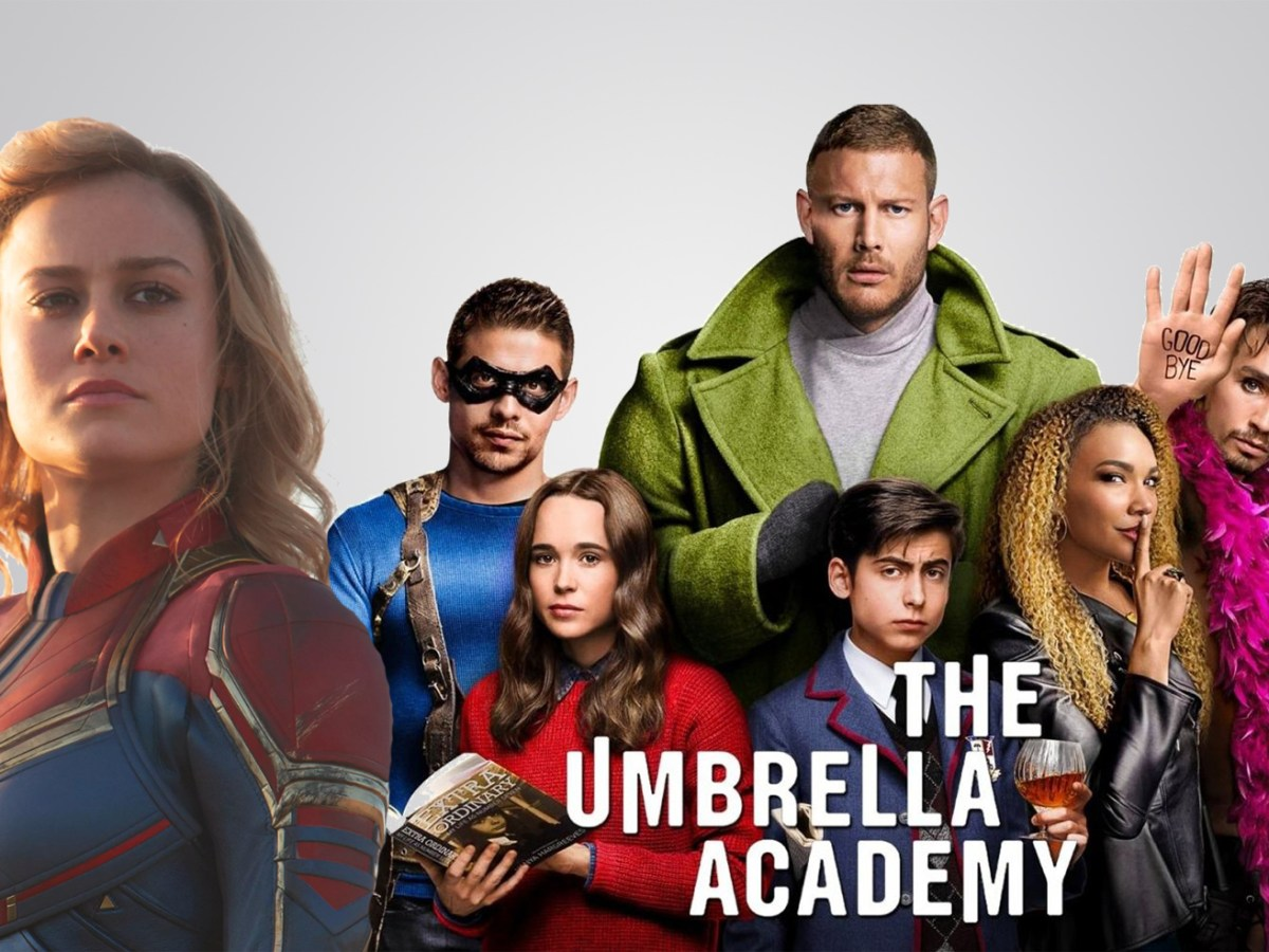 Netflix - Brie Larson - The Umbrella Academy