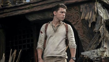 Tom Holland como Nathan Drake en la película de Uncharted, estreno de Uncharted - Sony Pictures