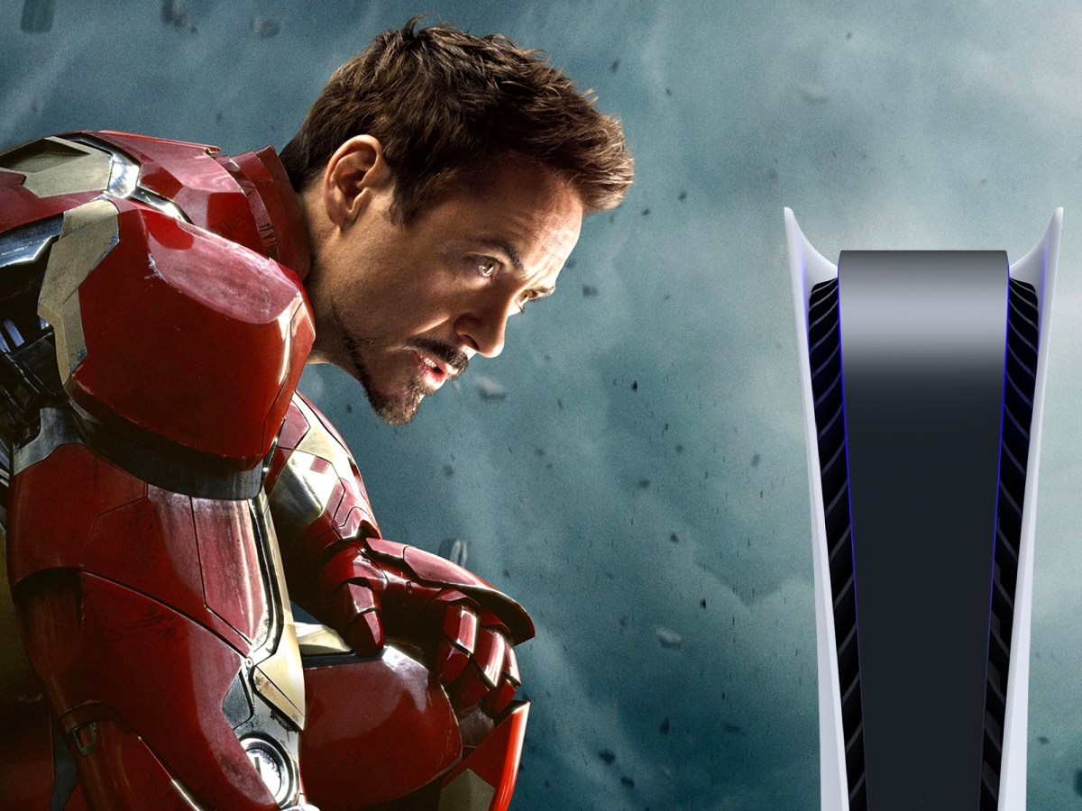 PlayStation 5 de Iron Man