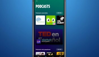 Amazon Music Podcast en España