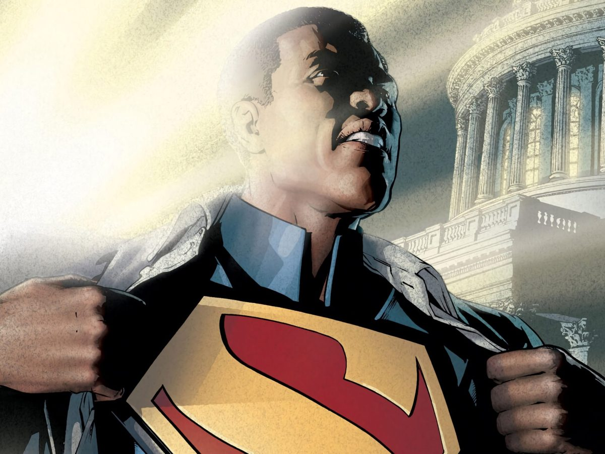 El Superman negro de Calvin Ellis