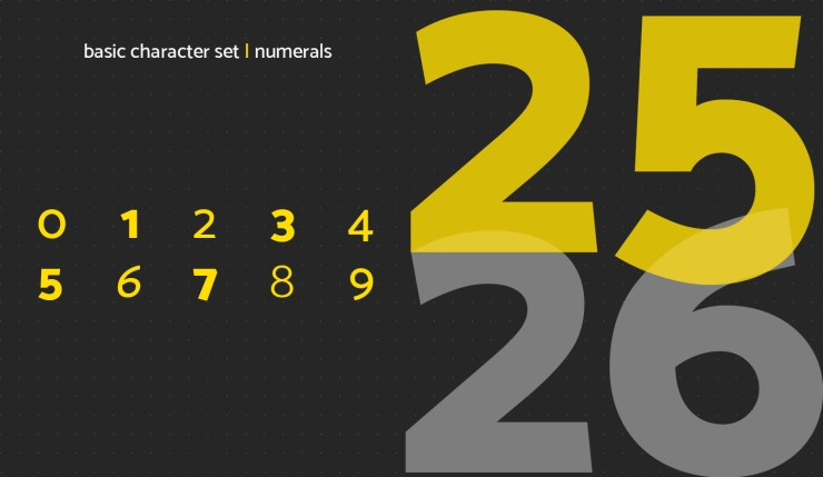 Mosk Typeface Preview