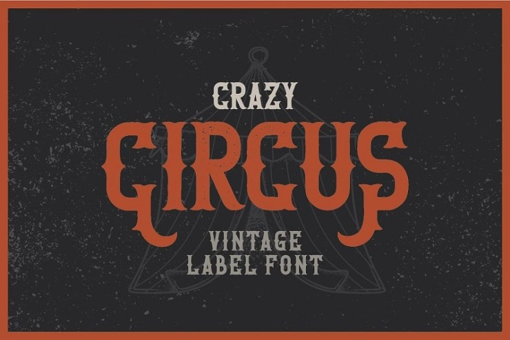 20 Cool Vintage Circus Fonts | HipFonts
