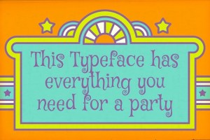Groovy 1960s Style Fonts