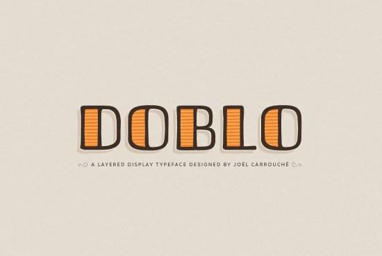 Doblo Typeface