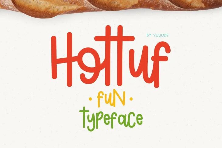 Hottuf Font