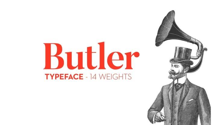 Butler Typeface