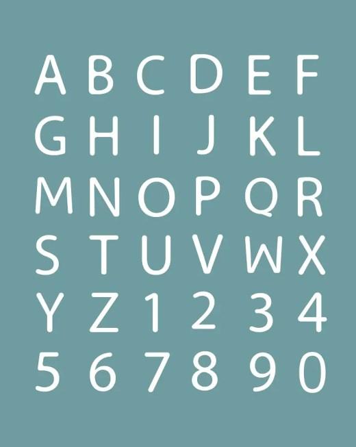 LIQUIDE Modern Font