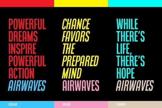 Airwaves Font Duo