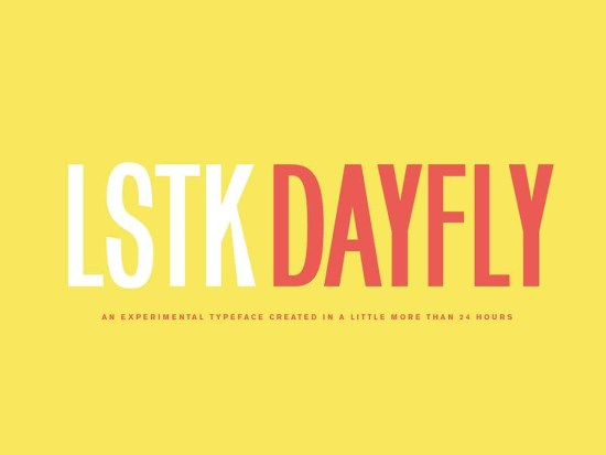 Dayfly Free Font