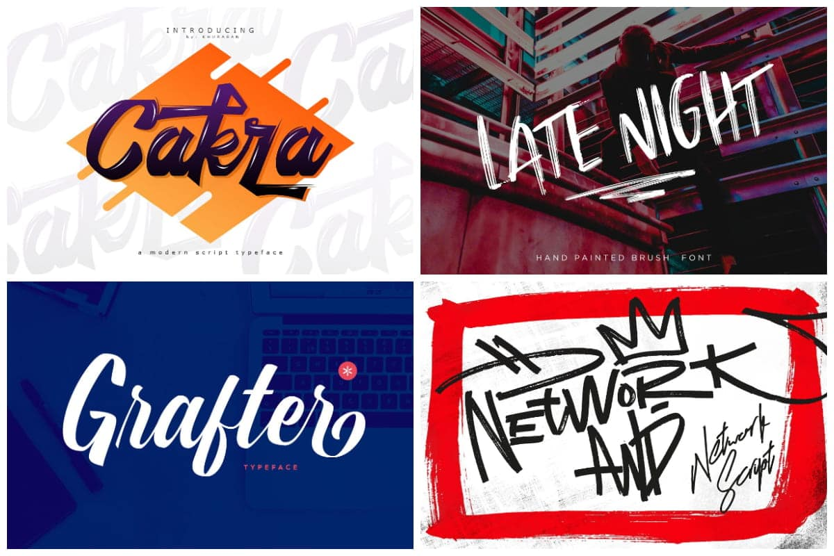 Be bold with these 15 graffiti fonts