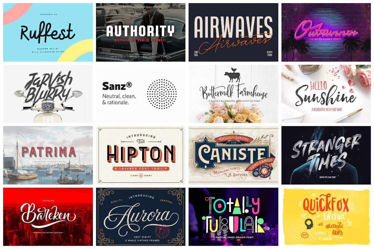 Promote Your Typeface