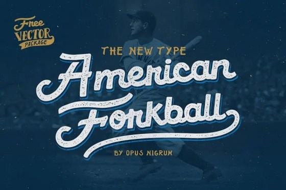 Cool Baseball Fonts