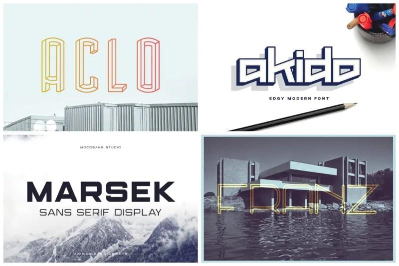 Architecture Fonts