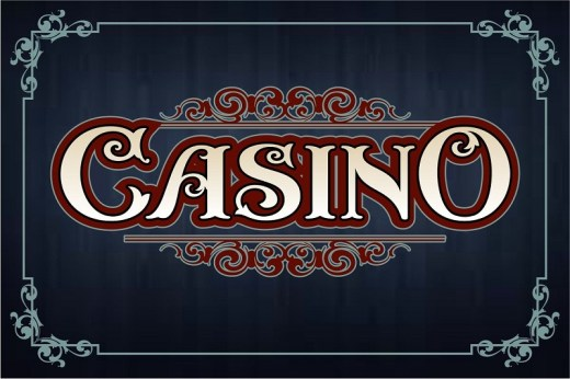 Amazing Casino Fonts