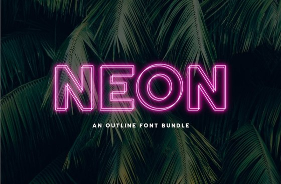 Neon Fonts