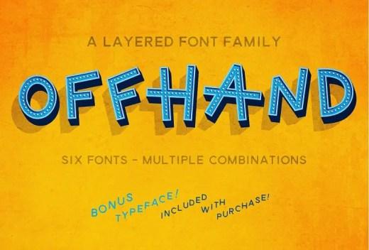 Amazing 3D Fonts