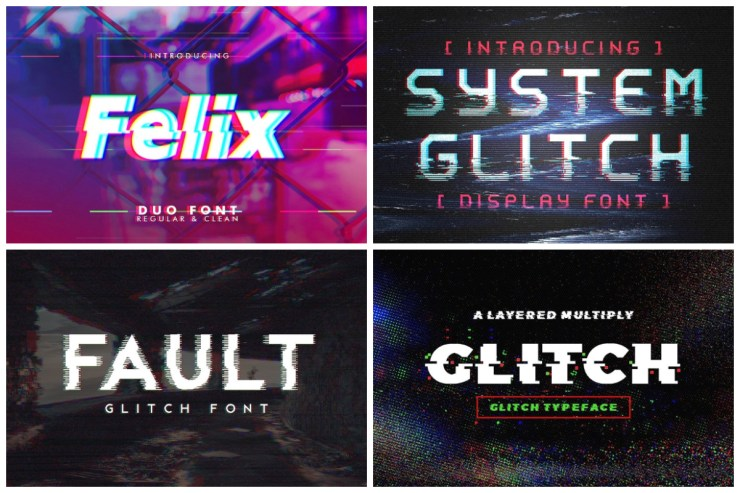 10 Glitch Fonts That Will Help You Step Into the Future