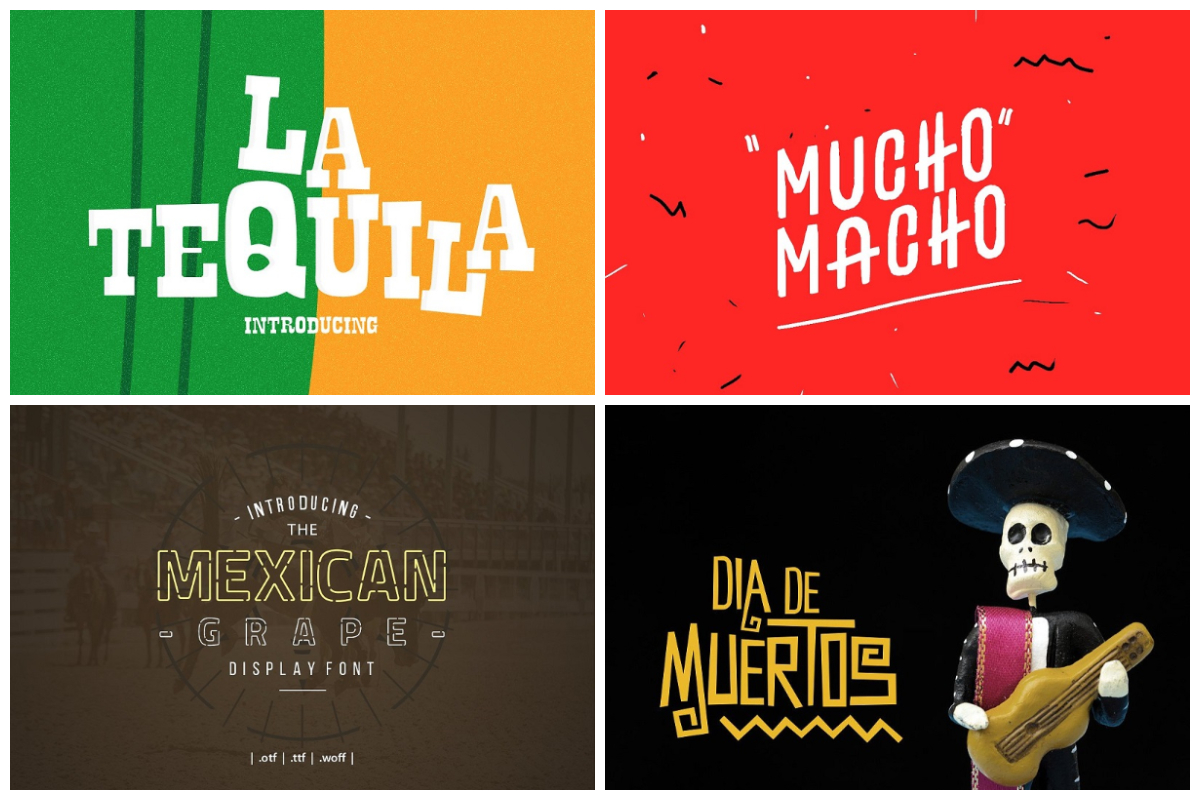 Mexican Fonts