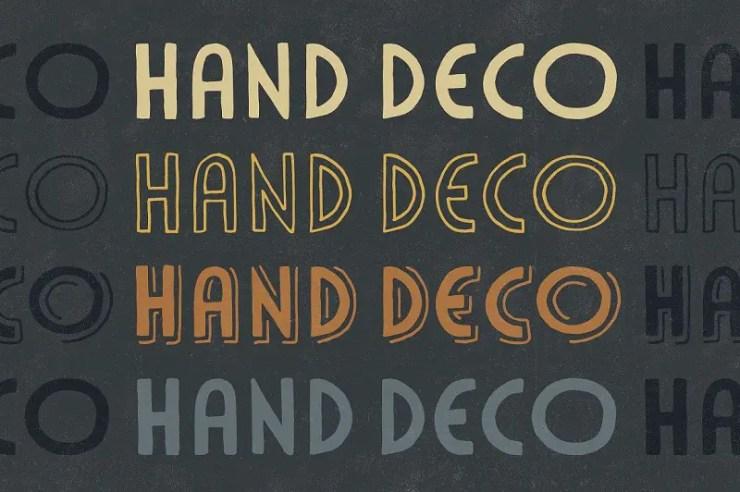 30 Beautiful Art Deco Fonts to Evoke a Bygone Era | HipFonts