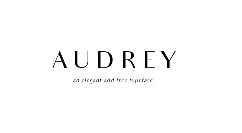 Audrey FREE Font