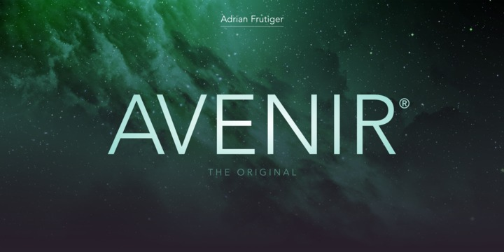 Avenir Font Family