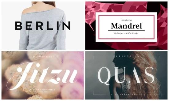 Fashion Fonts
