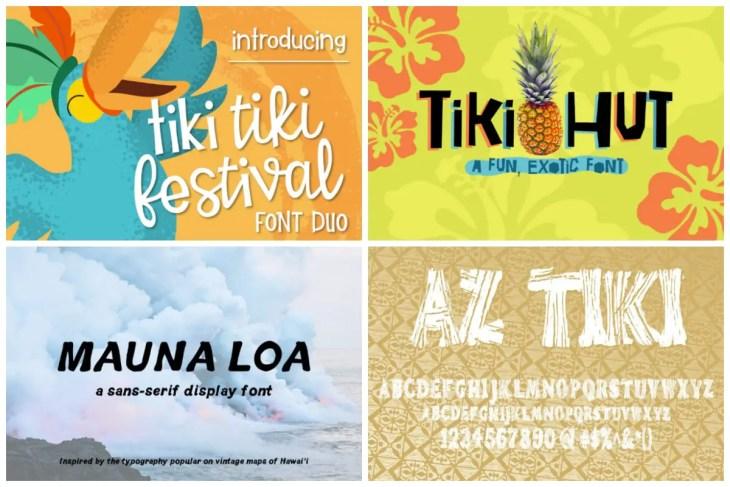 Tiki Fonts Cover min